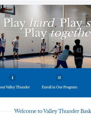 Valley Thunder Basketball